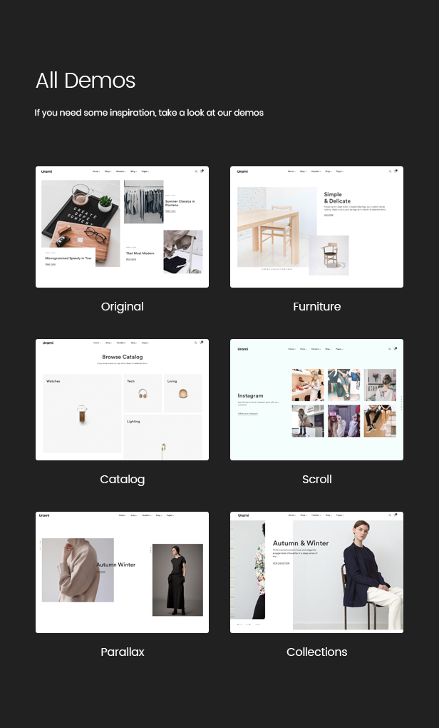 Urami WP - Modern minimalist WooCommerce theme - 4